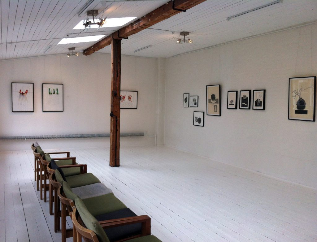 'DRAWINGS'solo exhibition-Hennebergehus-Esbjerg-2014