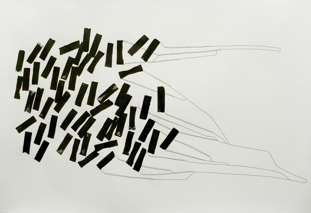D_ink and pencil on paper_56x79cm